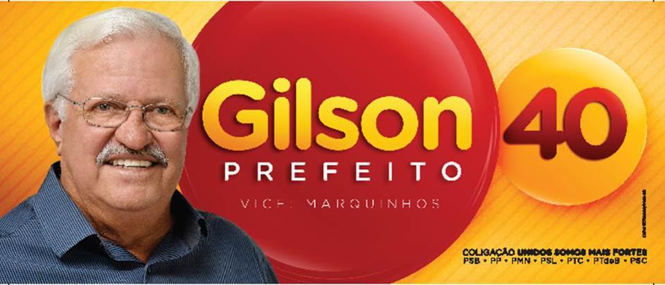 Gilson40prefeito