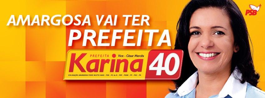 Karina condena tentativa de coação ao site Amargosa Notícias