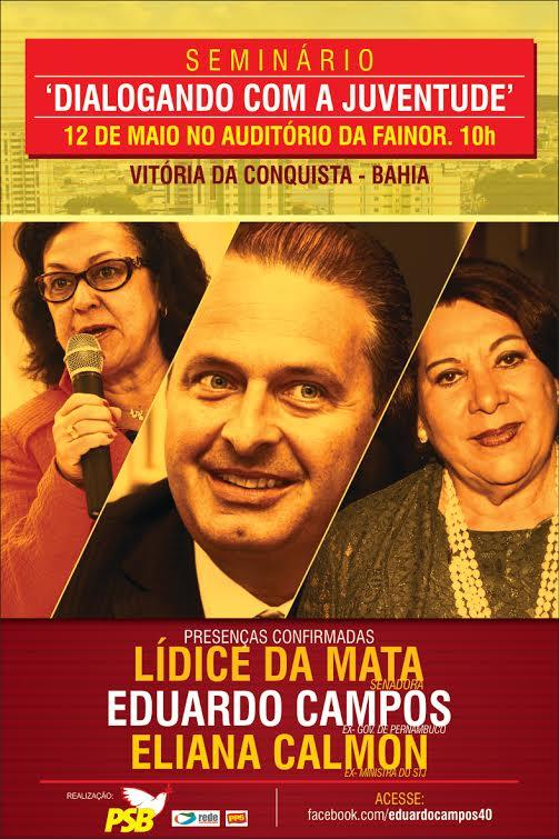 Eduardo Campos em Conquista