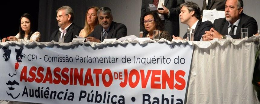 Audiência da CPI do Assassinato de Jovens na Bahia