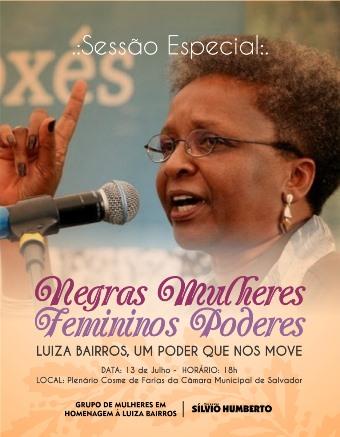 Luiza Bairros Homenagem