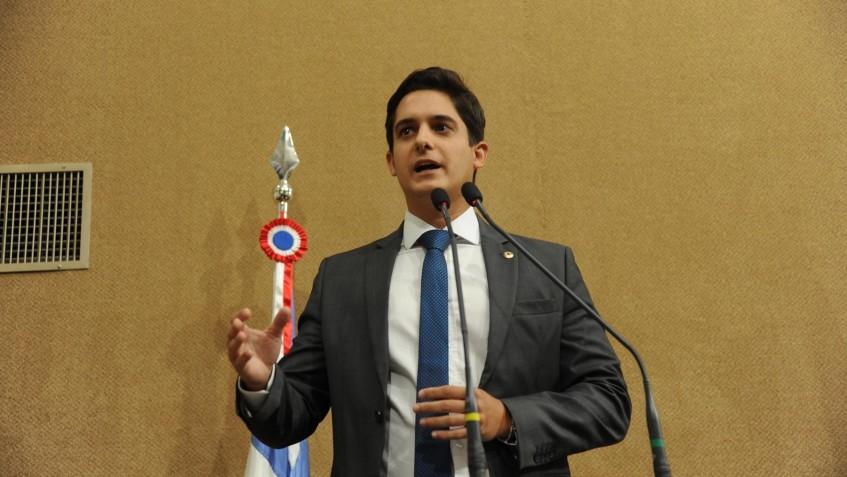 O deputado estadual Marcelo Veiga é vice-líder do governo na Alba - FOTO Assembleia Legislativa da Bahia